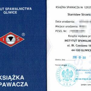 Książka spawacza - Instytut Spawalnictwa Gliwice