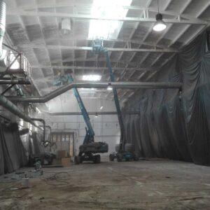 Malowanie hal przemysłowych