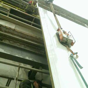 Montaż konstrukcji - hale przemysłowe