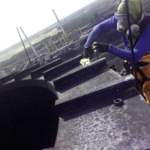 Alpinista przemysłowy - prace na wysokości
