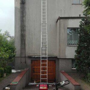Czyszczenie elewacji - budynek mieszkalny