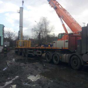 Montowanie kominów przemysłowych