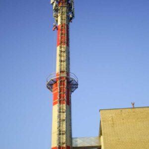 Prace wysokościowe - kominy