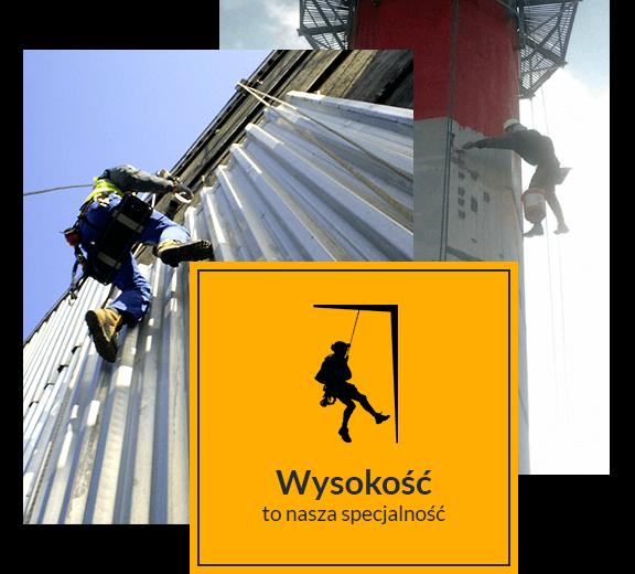 Stykpol - Usługi alpinistyczne, prace wysokościowe